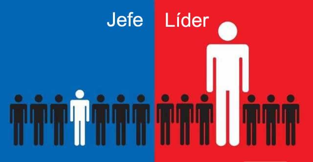 LIDER VS JEFE